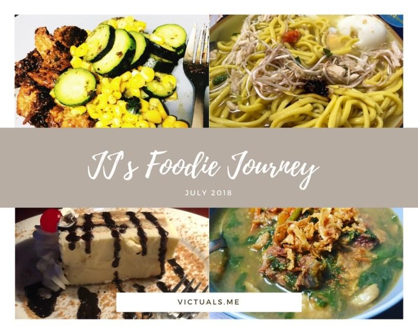 JJ's Foodie Journey – July 2018