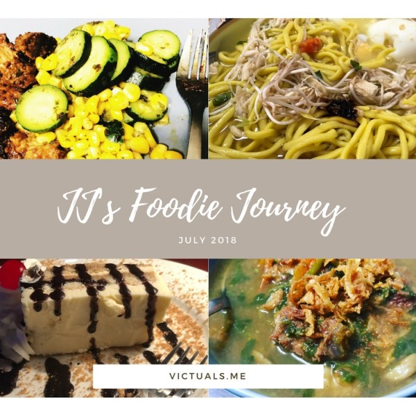 JJ's Foodie Journey – July 2018