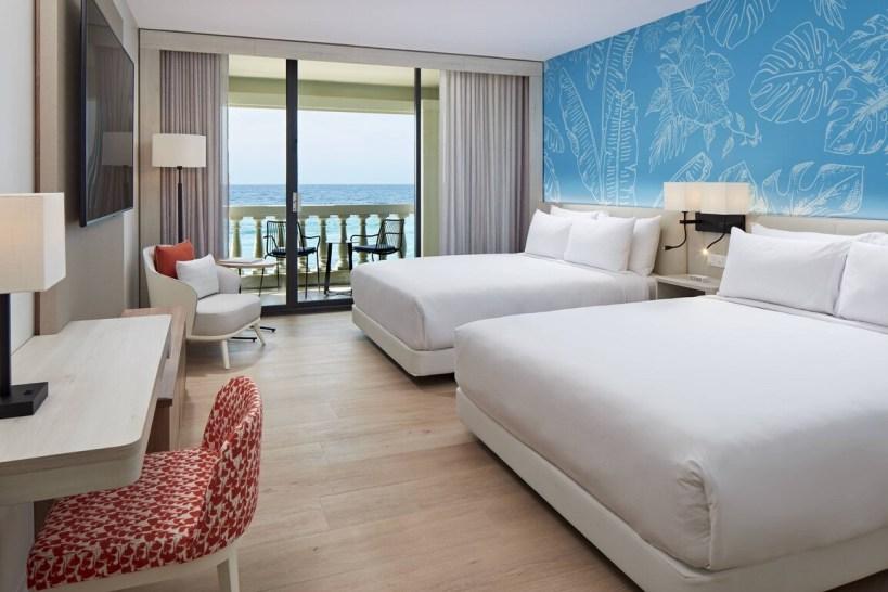 Curacao Marriott Beach Resort -Queen Guest Room - Ocean Front