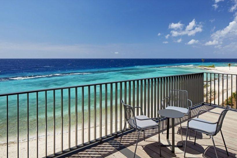 Curacao Marriott Beach Resort - Reef Club Suite - Balcony view