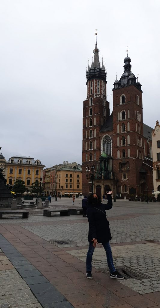 <em>St. Mary's Basicilia, Krakow.</em>