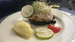 Stuffed Steamed Fish