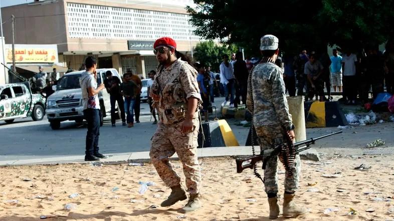 soldati a Derna