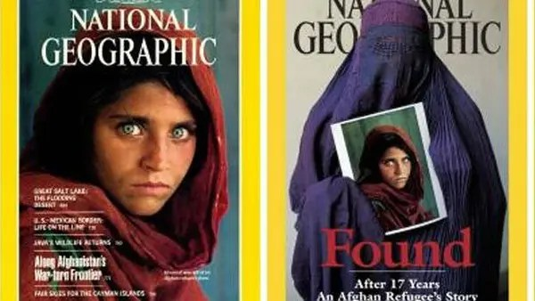Image result for famous afghan girl photo