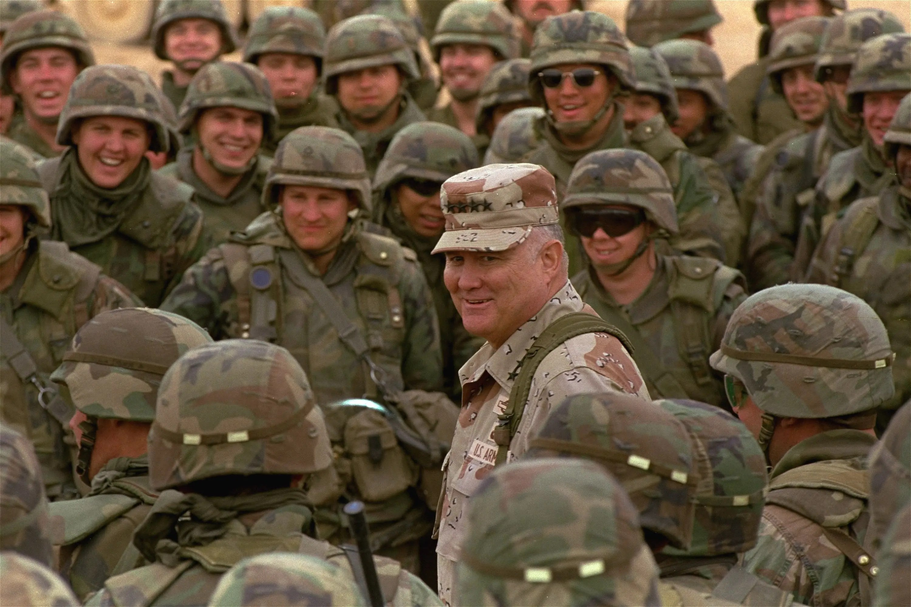 Top 21 Faces Of The Gulf War