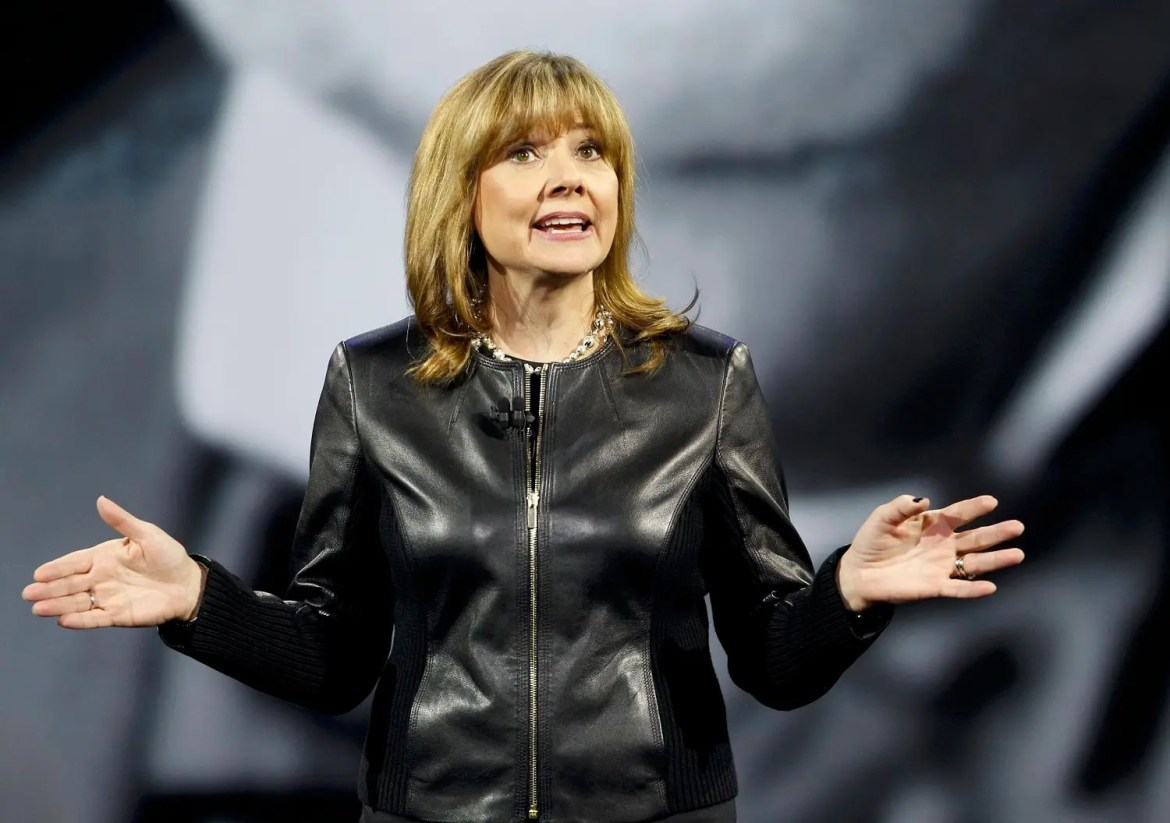 Mary Barra, Chairman and CEO of General Motors, and one of three female Co-Chairs at Davos 2016. (File photo: Reuters)