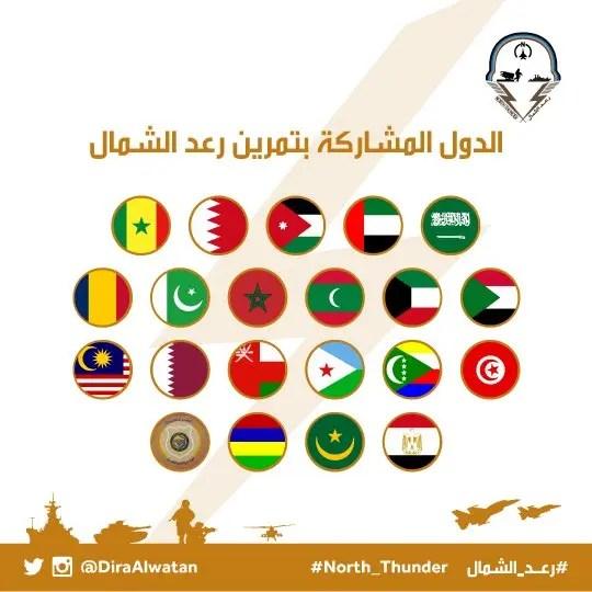 بالفيديو القوات المشاركة في رعد الشمال تصل السعودية