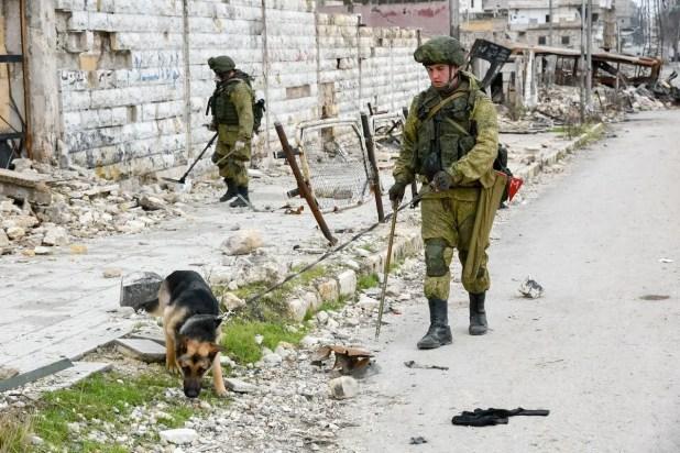 قوات روسية في سوريا