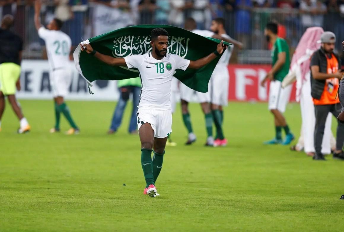 Kết quả hình ảnh cho arab saudi russia world cup 2018