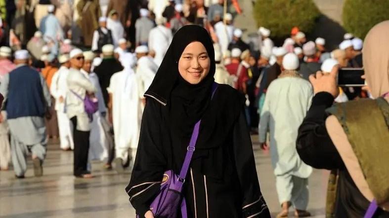 Seorang jamaah haji (Foto : alarabiya.net)