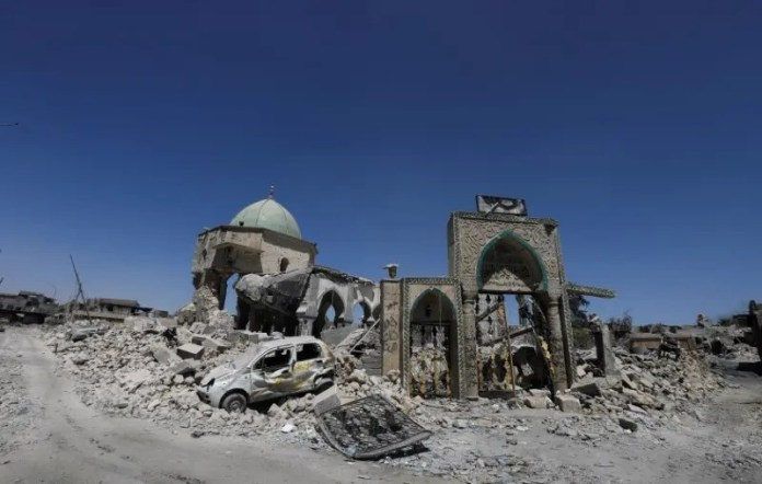Al-Nuri mosque was destroyed by ISIS
