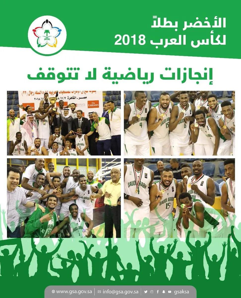 2018 عام الإنجازات في الرياضة السعودية