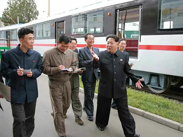 Kim's train
