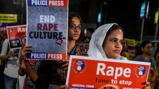 مظاهرة في الهند ضد الاغتصاب