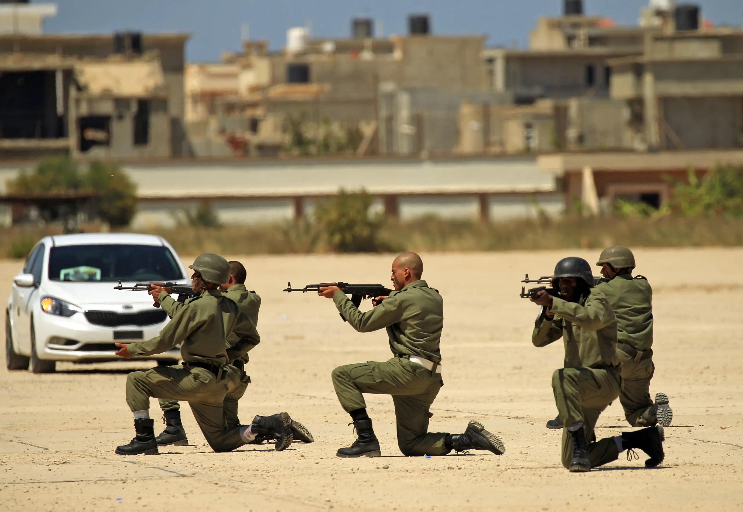 عناصر من الجيش الليبي(أرشيفية- فرانس برس)