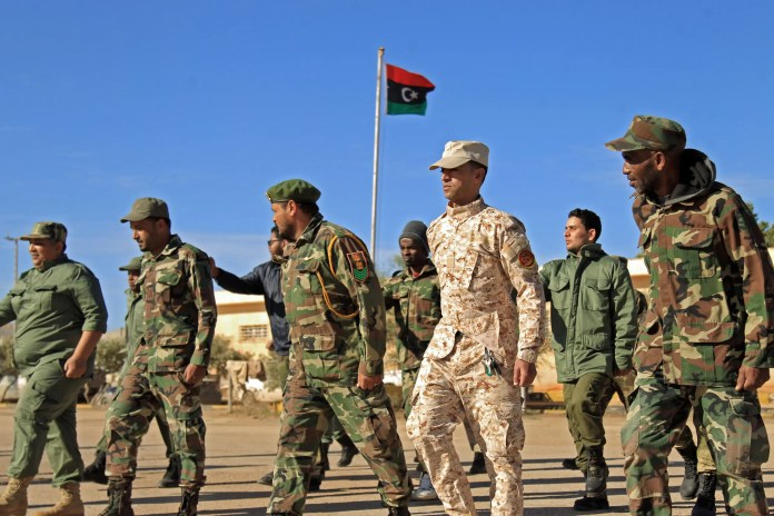 Elements of the Libyan army (archive - AFP)