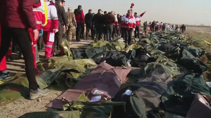 From the Ukrainian plane crash site