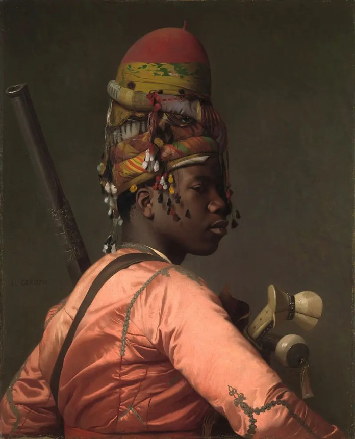 Painting by Jean Leon Jerome, painted in 1869 by a member of the Bashi-Bazouks