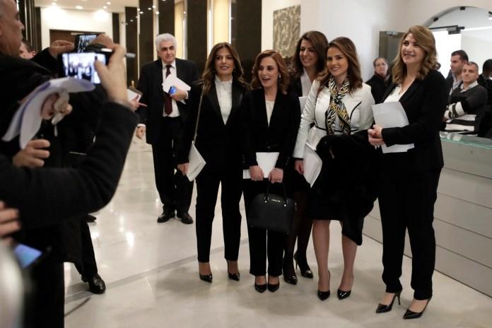 5 Lebanese women ministers