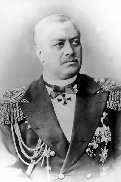 Portrait of Russian Admiral Andrey Popov