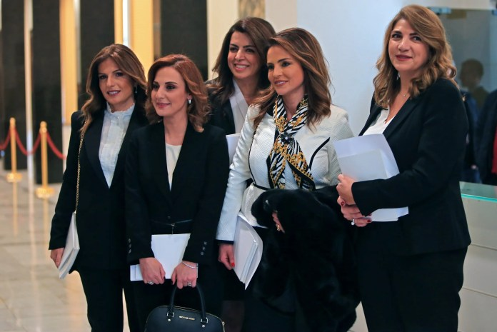 New ministers on the Lebanese
