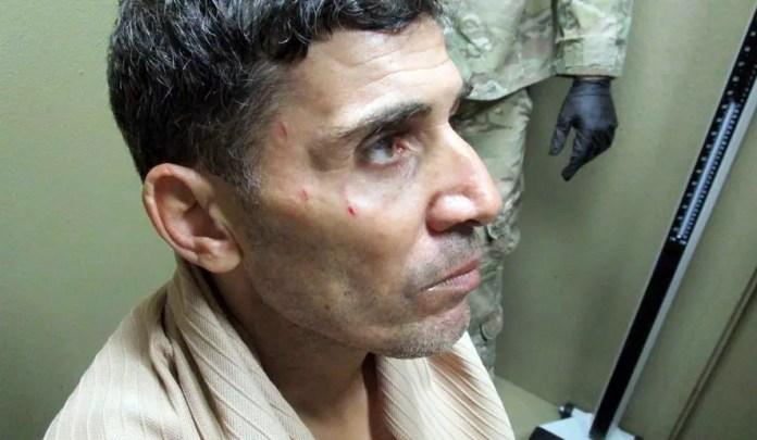 Mustafa Imam after his arrest