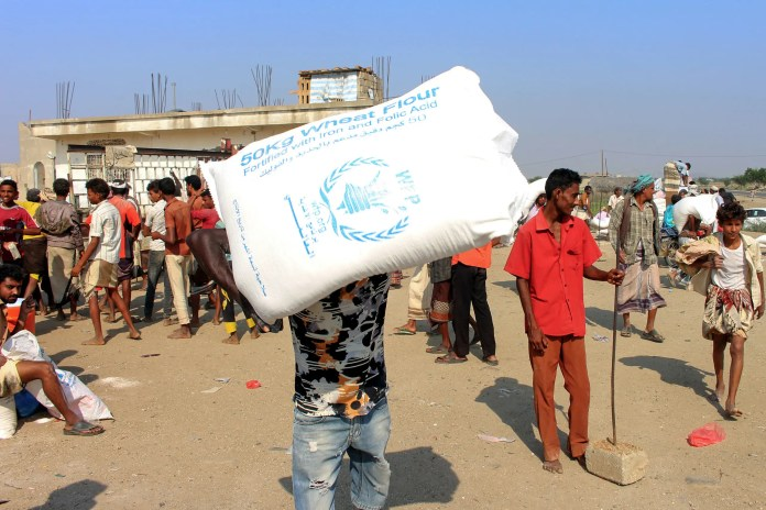 Food Aid to Yemen (Archives - France Press)