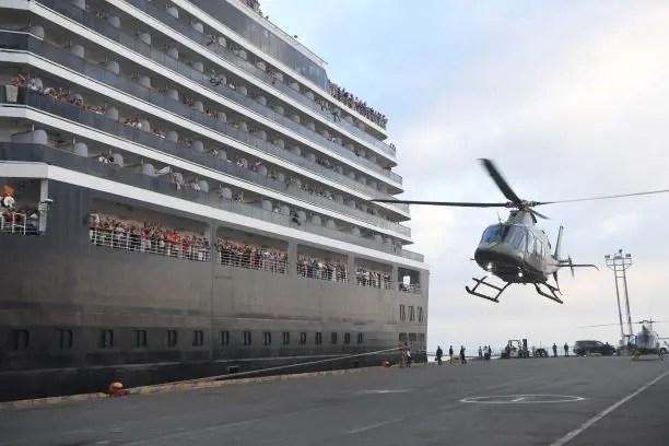 السفينة إم.إس ويستردام (فرانس برس)