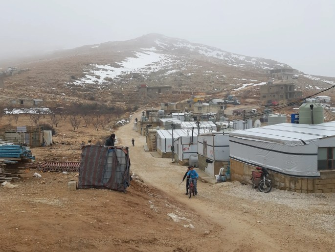 Syrian refugees struggle in Arsal refugee camp, Lebanon. (Abbey Sewell)