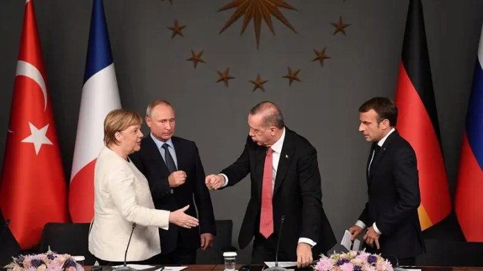 Merkel, Macron want to meet Putin, Erdogan to defuse Syria crisis