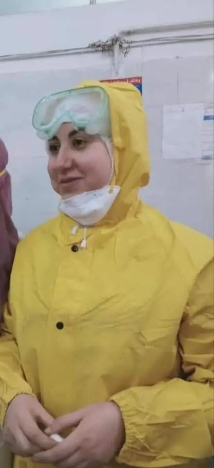 Doctor Aya Al-Hadidi