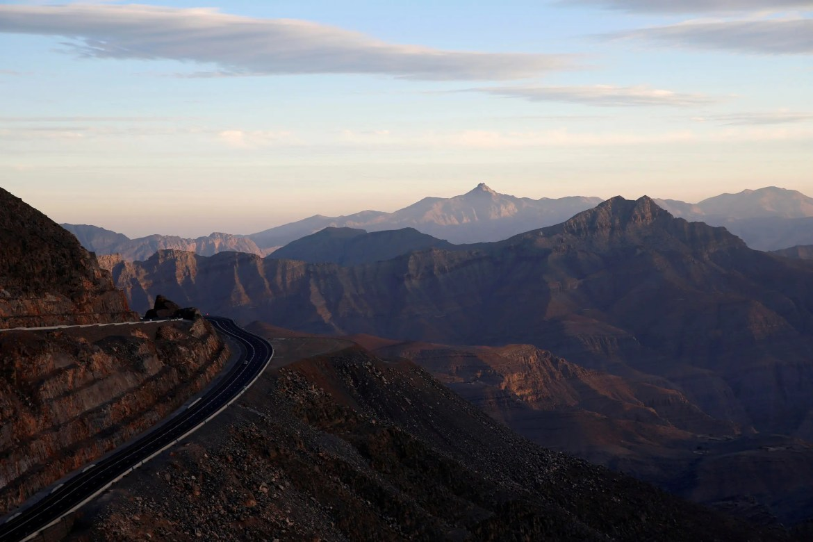 Jebel Jais mountain in Ras al-Khaimah. (File photo: Reuters)