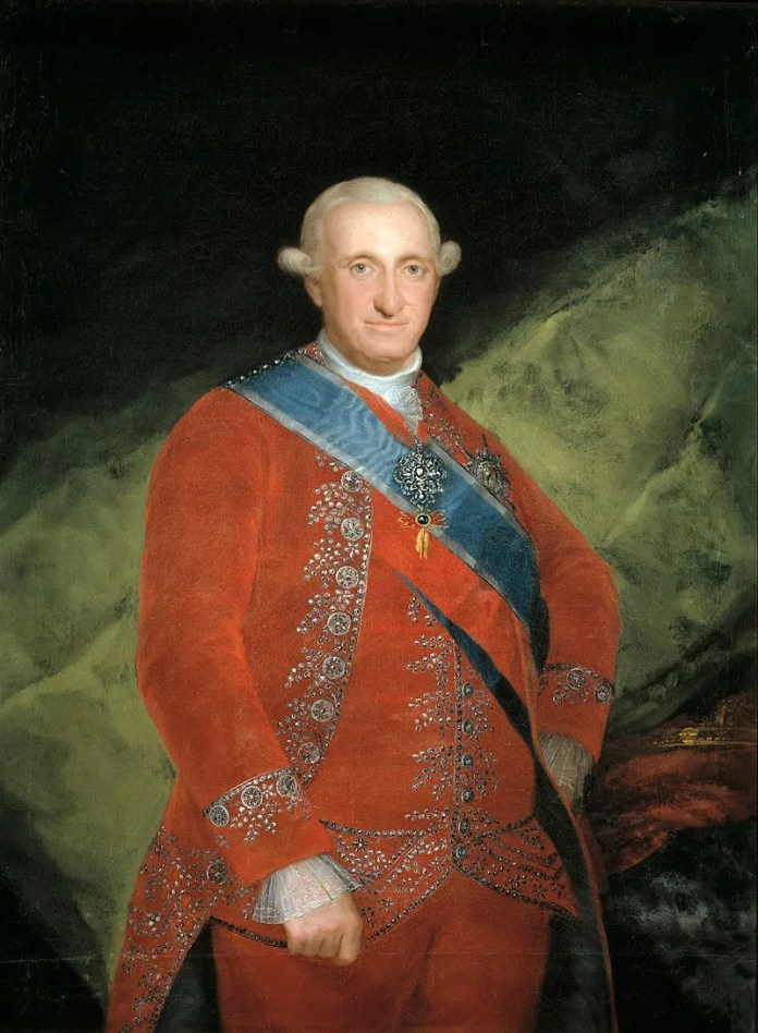 Portrait of the King of Spain Charles IV