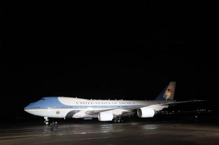 President Donald Trump's plane