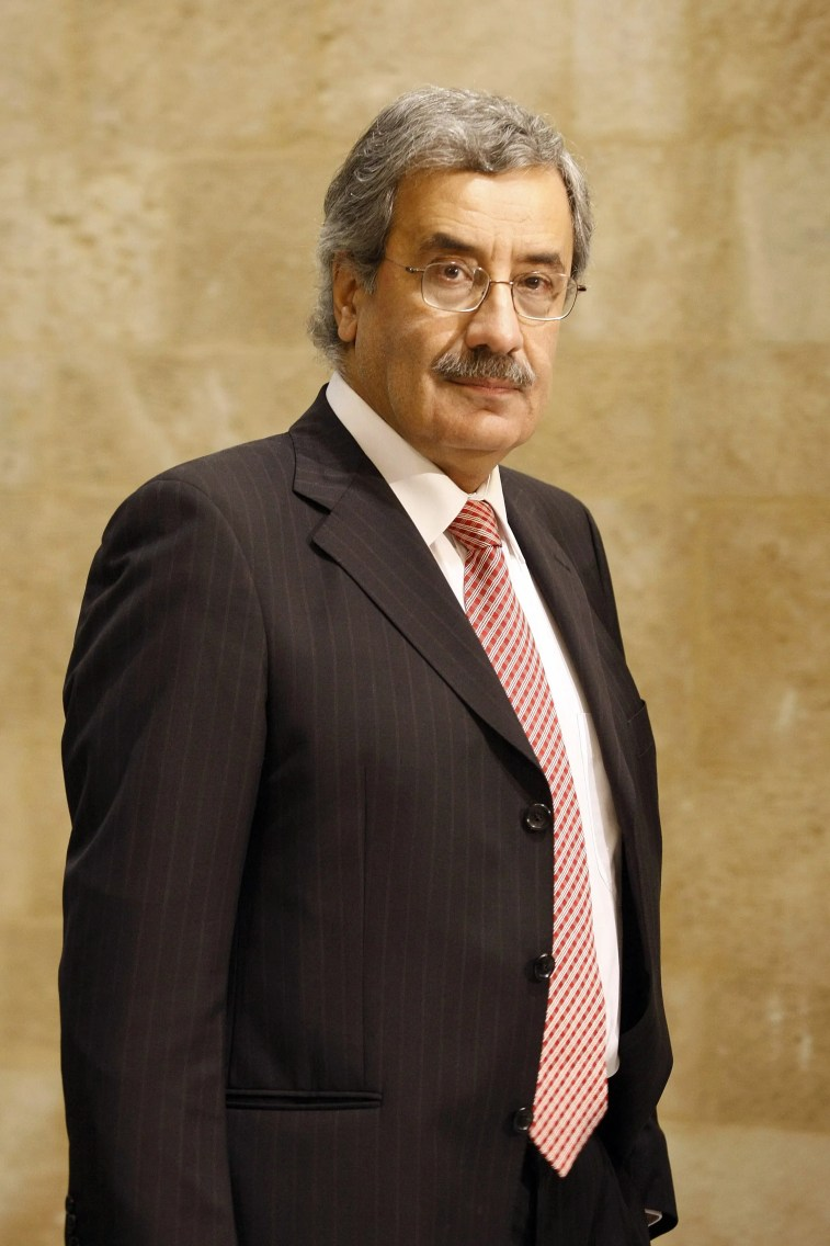 Charbel Nahas in 2009 after being appointed Telecommunications Minister. (AFP.)