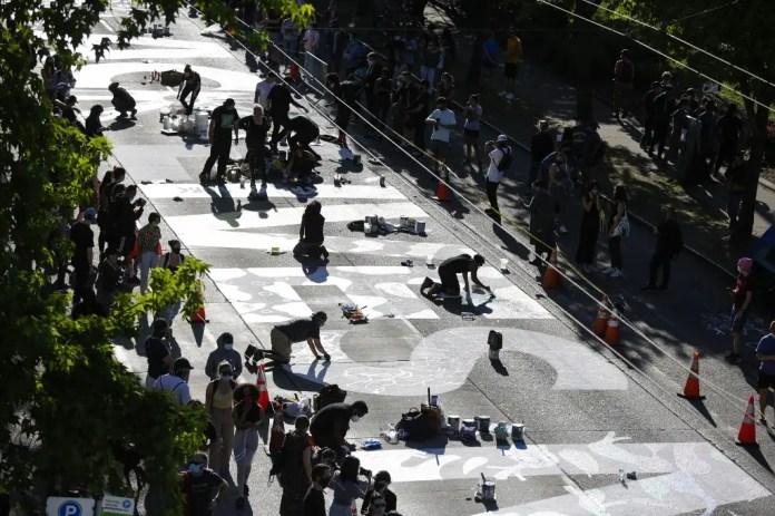 Seattle demonstrations - Agence France Presse, June 11
