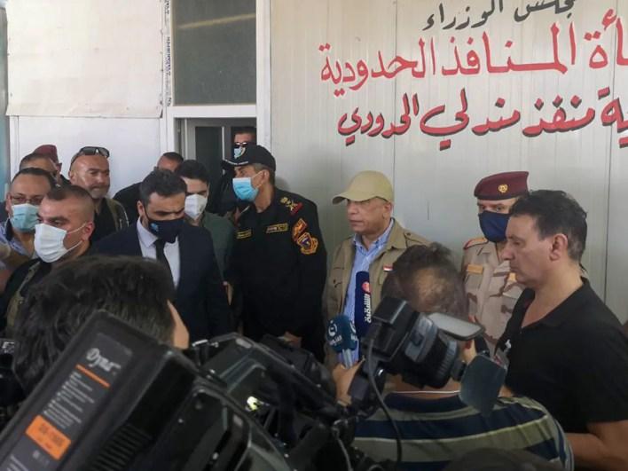 رئيس الوزراء العراقي مصطفى الكاظمي (فرانس برس)