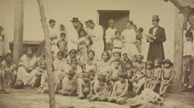 جانب من المشردين بالباراغواي عقب الحرب