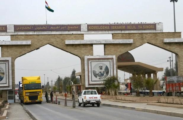 من الحدود العراقية التركية