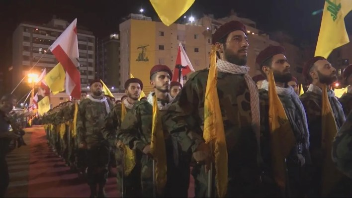 عناصر من حزب الله اللبناني