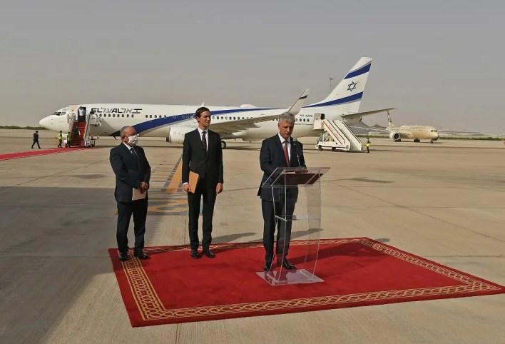 وصول الوفد الأميركي والإسرائيلي إلى أبو ظبي برئاسة غاريد كوشنير