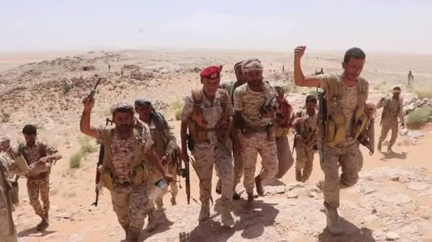 قوات من الجيش اليمني