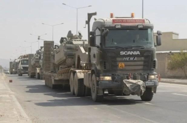 الجيش التركي ينقل دبابات من حدوده الجنوبية إلى الحدود اليونانية