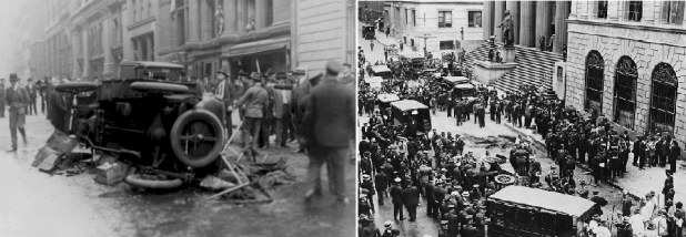 انتشر الدمار في كل مكان بأحد أشهر شوارع نيويورك