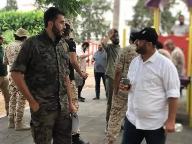 احتجاج الإخوان في طرابلس