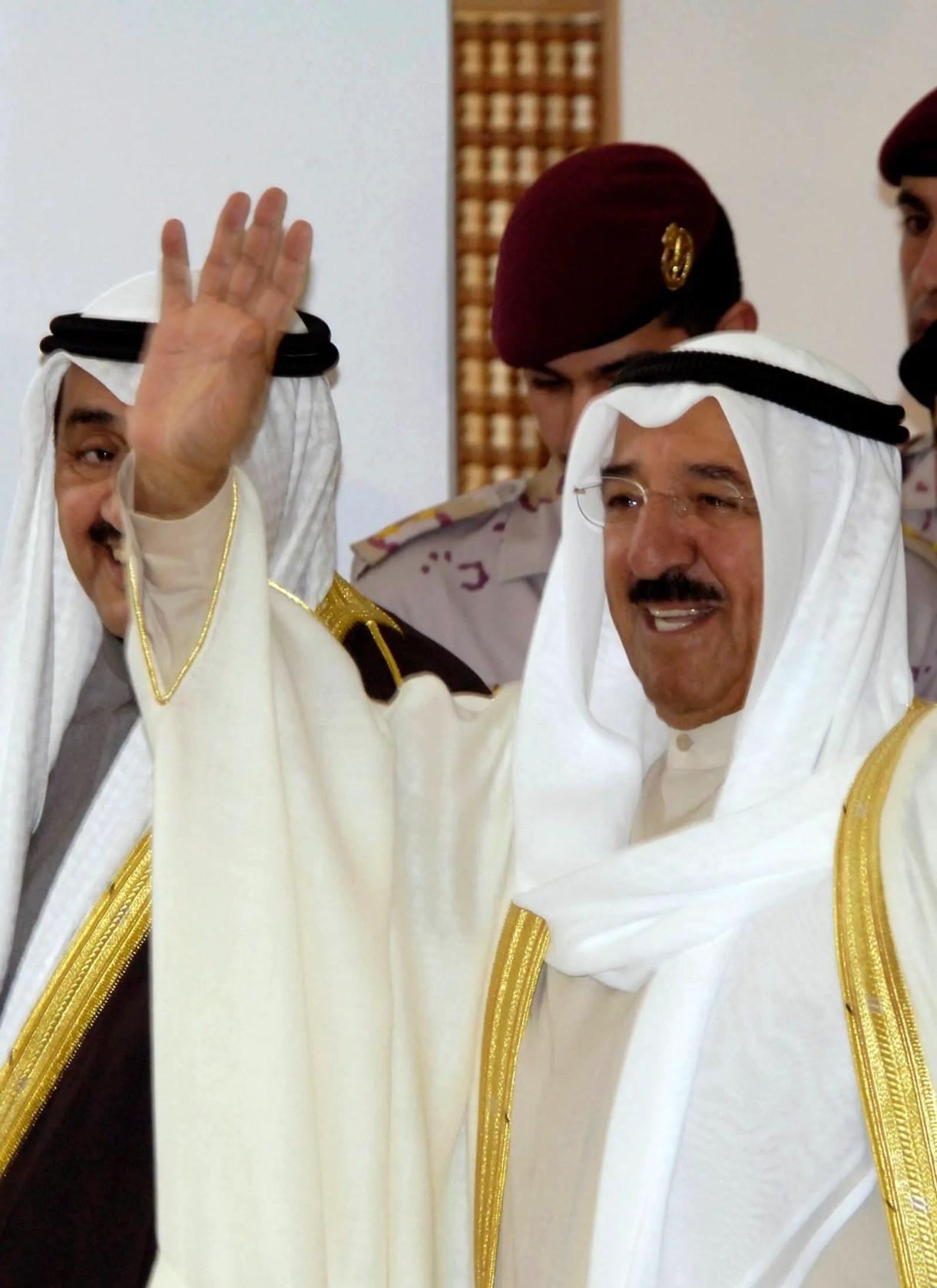 الشيخ صباح الأحمد