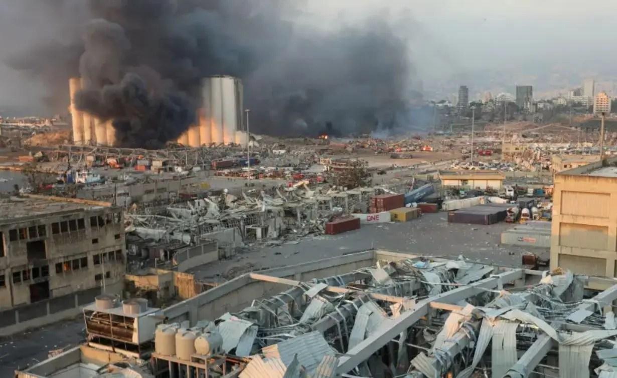 من انفجار مرفأ بيروت