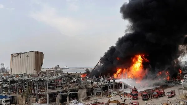 Lebanon hires German firm to clear dangerous material from blast-hit Beirut port