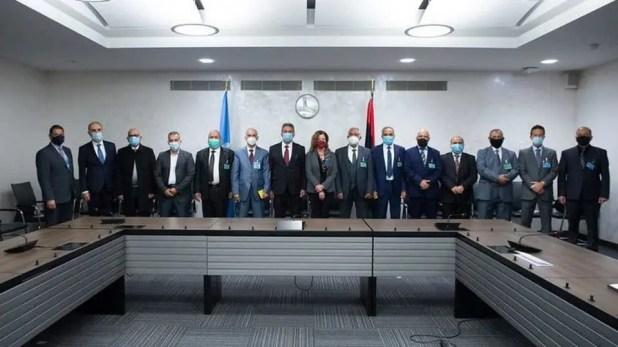 من المحادثات الليبية في جنيف