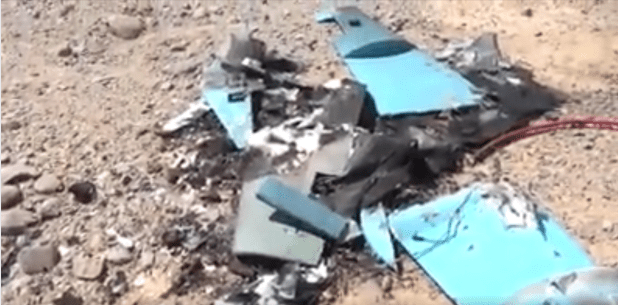 الجيش اليمن يسقط طائرة مسيرة حوثية في نهم صنعاء اكتوبر 2020
